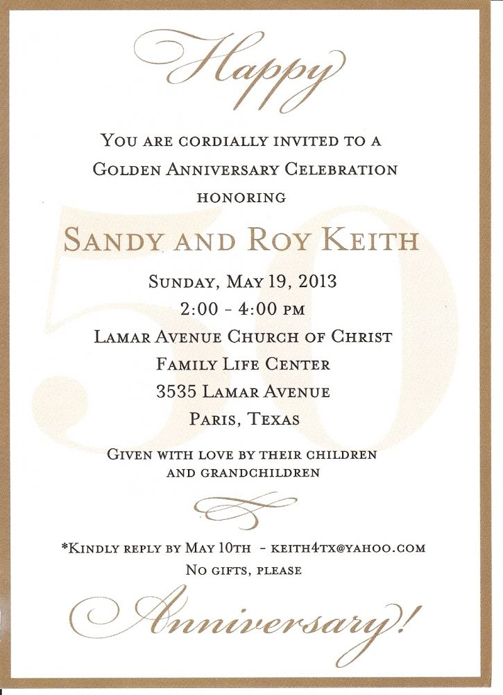 ... invitations, 50th wedding anniversary and 50th anniversary invitations