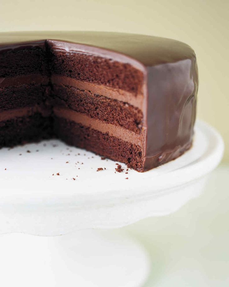 Use this recipe when making our Luscious Chocolate Cake.