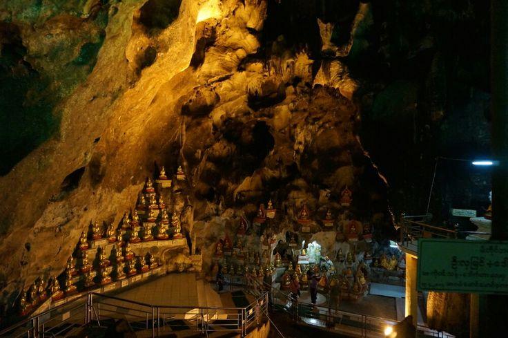 Pindaya Cave, located in Shan State, houses over 8,000 Buddha statues. #Pindaya #Cave #Myanmar #Nature #Buddha