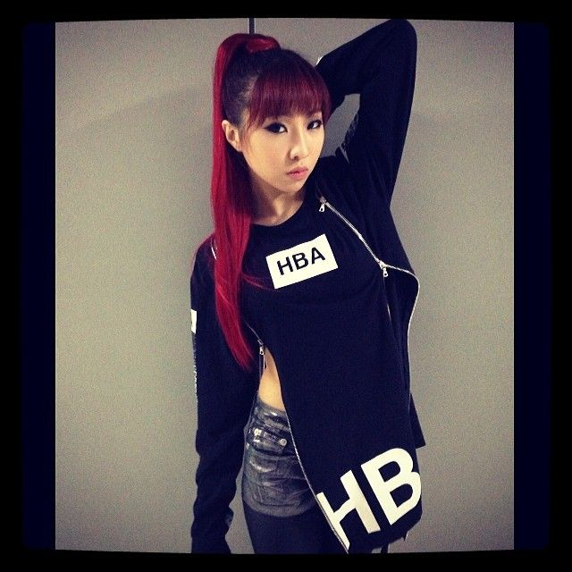Minzy - 2NE1 - AON - COMEBACK HOME - Can never go wrong with long hair