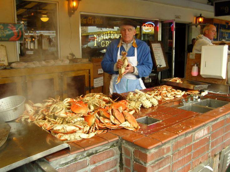 Dungeness Crab- Fishermans Wharf (San Francisco, CA)
