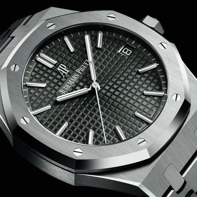 Audemars Piguet Royal Oak 41mm Automatic Grey Dial Bracelet Watch