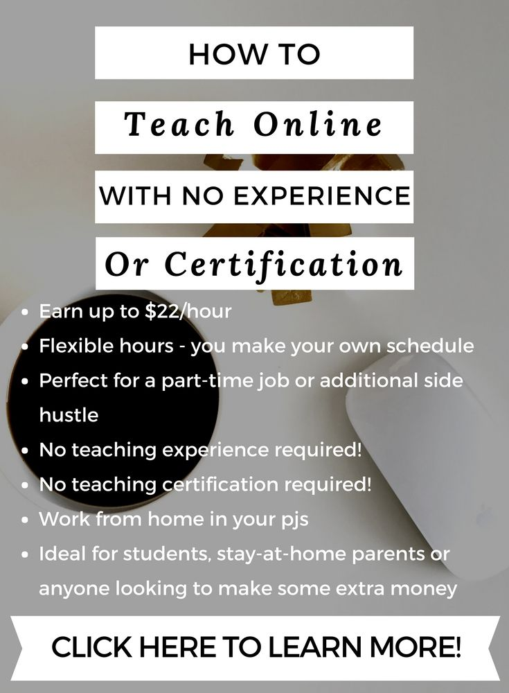 how to teach online with no experience or certification ...