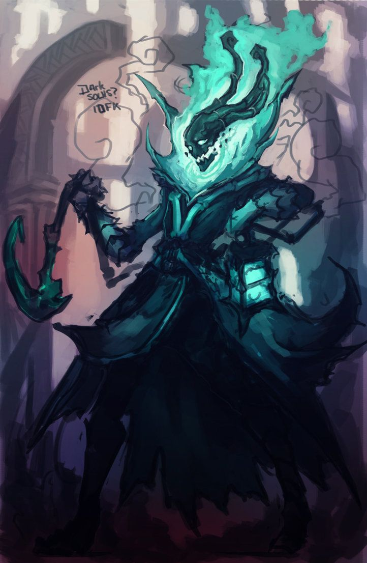 Thresh WIP by xluxifer on DeviantArt
