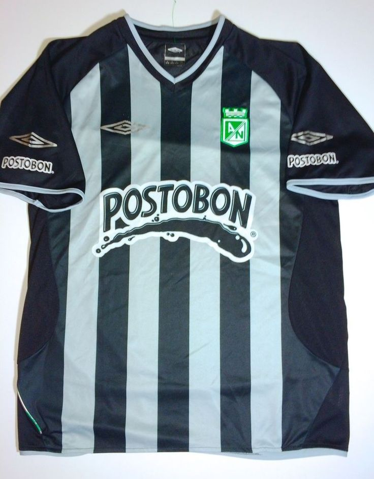 Club Atletico Nacional S.A. Colombia Black Striped Futbol Soccer Umbro Jersey XL http://www.ebay.com/itm/Club-Atletico-Nacional-S-A-Colombia-Black-Striped-Futbol-Soccer-Umbro-Jersey-XL-/201175183690