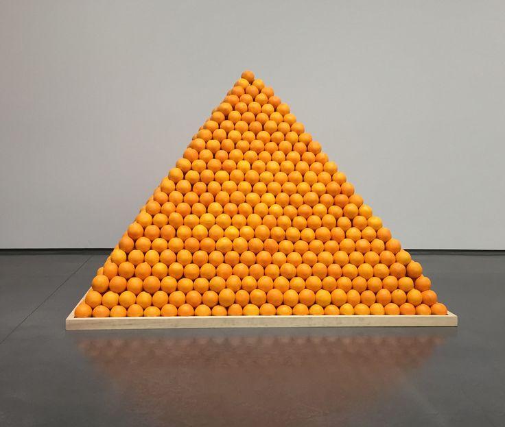 """Пища для размышлений: """"Соул Сити"""" (Пирамида из апельсинов) впервые создан в 1967 году Лоу Рулоф"""
