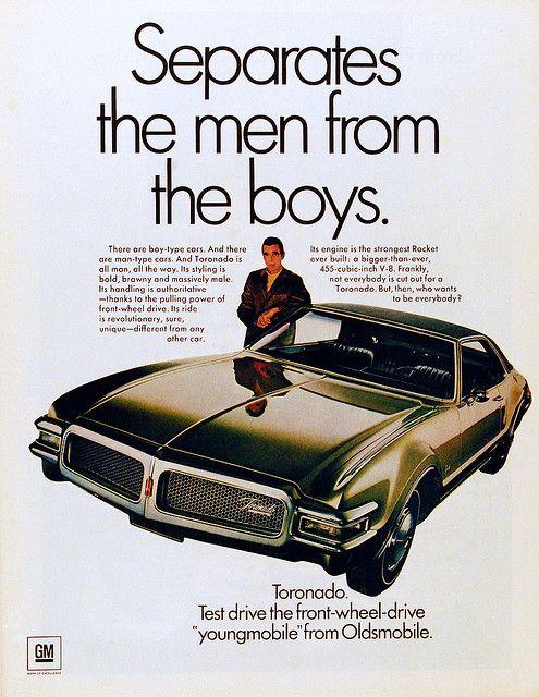 Oldsmobile Toronado ad