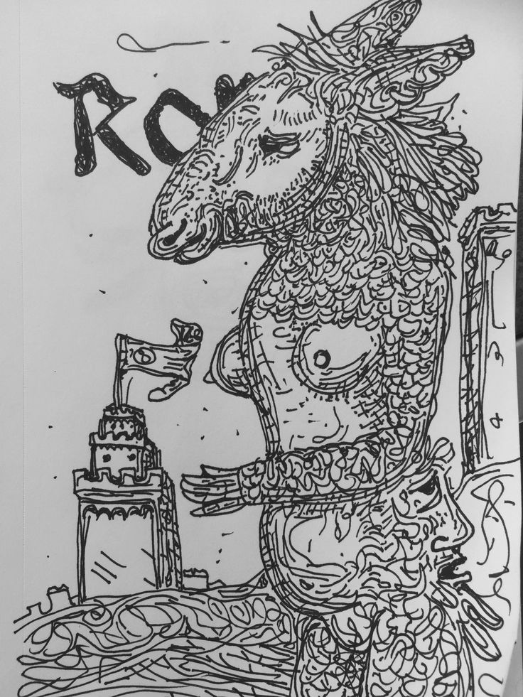 """""""The beast"""" 5.5x8.5 inch. DRAWING/ILLUSTRATION. The beast is almays watching you. . Published via ArtLoupe. #ABSTRACT #BLACK #AND #WHITE #CONCEPTUAL #CONTEMPORARY #FANTASY #FIGURATIVE #FOLK #FUNCTIONAL #GEOMETRIC #IMPRESSIONISTIC #LANDSCAPE #MINIMALIST #MODERN #POP #PORTRAIT #POSTMODERN #REALISM #REPRESENTATIONAL #STILL #LIFE #SURREAL #TRADITIONAL #URBAN #WILDLIFE"""