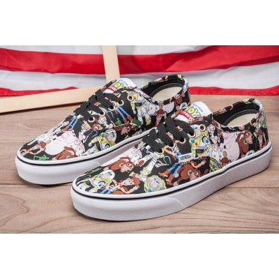 26f7bab50ee8d1 Toy Story x Vans Journeys Authentic Cartoon Skate Shoes  Vans
