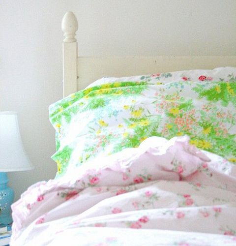 mismatched bedding