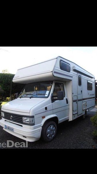 4 berth camper for very reluctant sale. Camper- '92, 2ltr D. Tested and taxed for 12 months. New tyres, services last month, new clutch plate, timing belt last year. 62k. Have all work receipts. Driving perfectly. All electrics and gas working 100%. Comes with- large drive away side awning, brand new, top box, bike rack, inflatable beds, crockery, storage units etc. This camper is absolutely immaculate. There is no finer example for its year in the country. Constantly remarked on. It's…