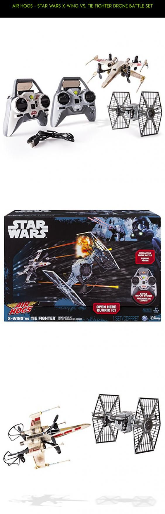 Air Hogs - Star Wars X-wing vs. TIE Fighter Drone Battle Set #air #drone #racing #camera #parts #shopping #technology #hogs #fpv #200 #plans #gadgets #products #tech #kit