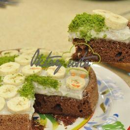 Muz Kremalı Kek Havuzu | Oktay Usta