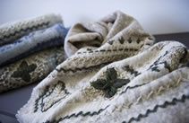 wool scarves- Dal MONDO Collection -