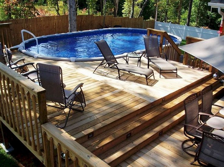 110 best pools images on pinterest dream pools play for Above ground pool ideas on a budget