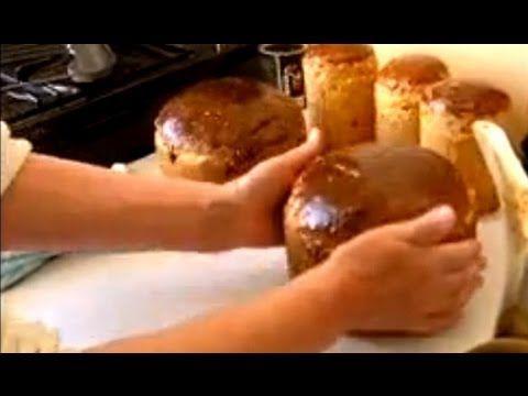 Золотая бабушка ч2. Домашняя паска кулич и домашние пирожки с вишней абрикосом Рецепт приготовления - YouTube