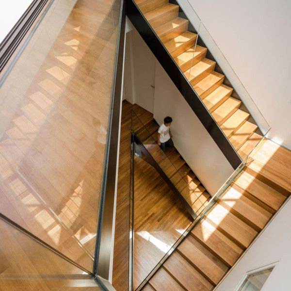 17 best images about i architecture stairs on pinterest staircases bookcases and storage - Staircases with integrated bookshelves ...