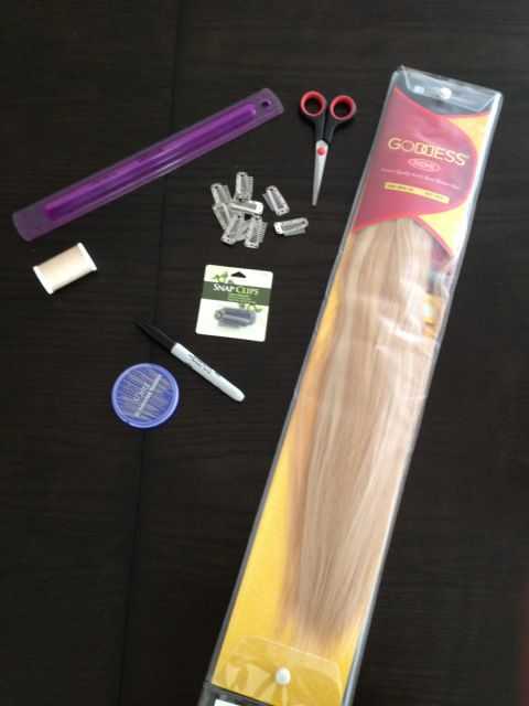 How to sew your own Extensions | blonde-empireblog