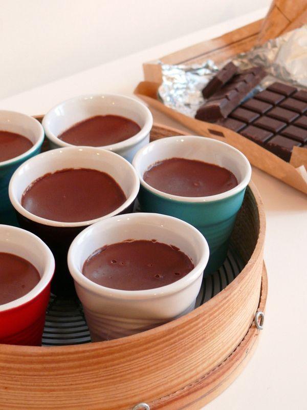 une tuerie de crème au chocolat (2 ingrédients)