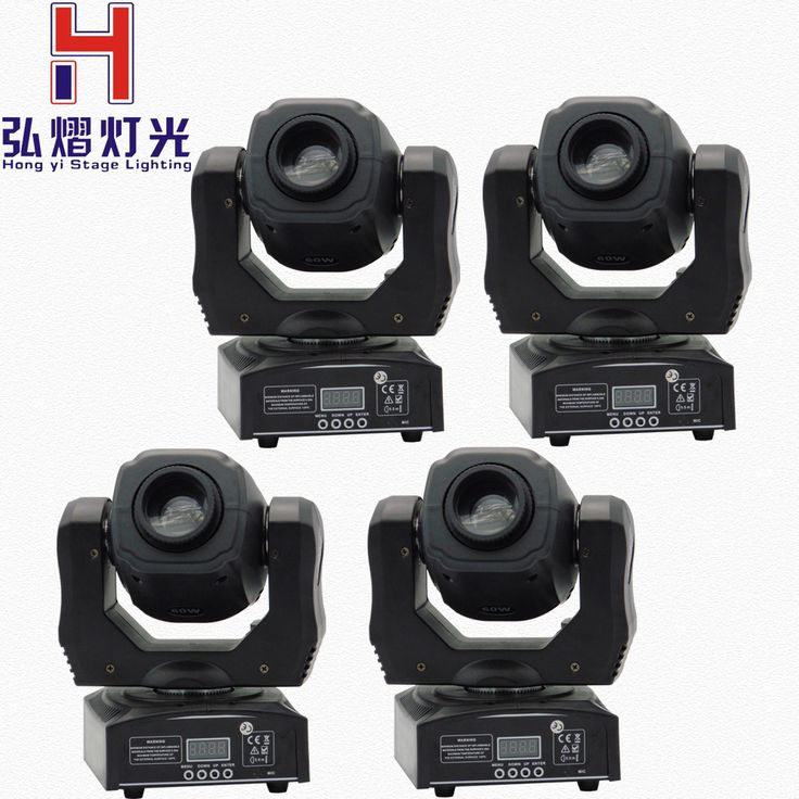 (4 stuks/partij) moving 60 w LED Moving Head gobo Licht led dmx 512 controle mini dj diso moving heads 60 w