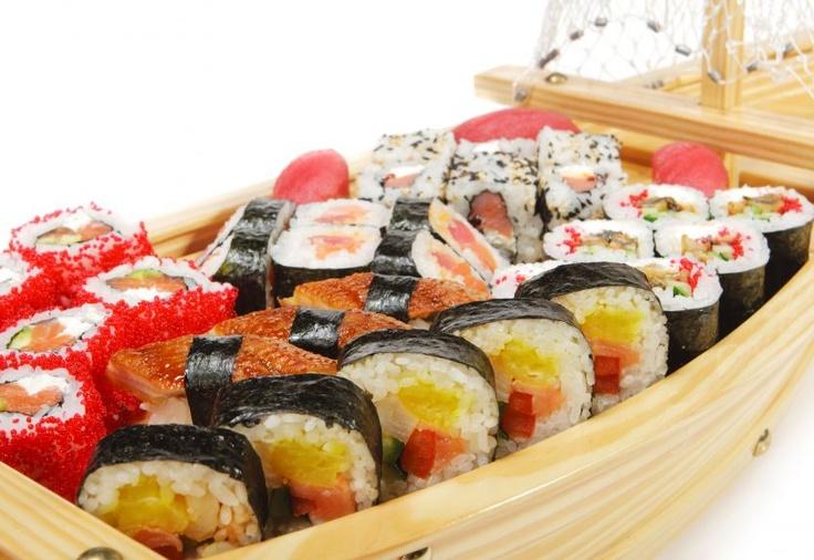 Con TIM Social sushi con sconti esclusivi a Roma, Milano, Torino e Venezia!