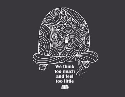 "Check out new work on my @Behance portfolio: ""We think too much and feel too little"" http://on.be.net/1I7rCKL"