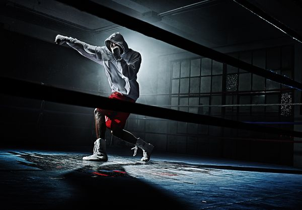 The Boxer by Tim Tadder, via Behance