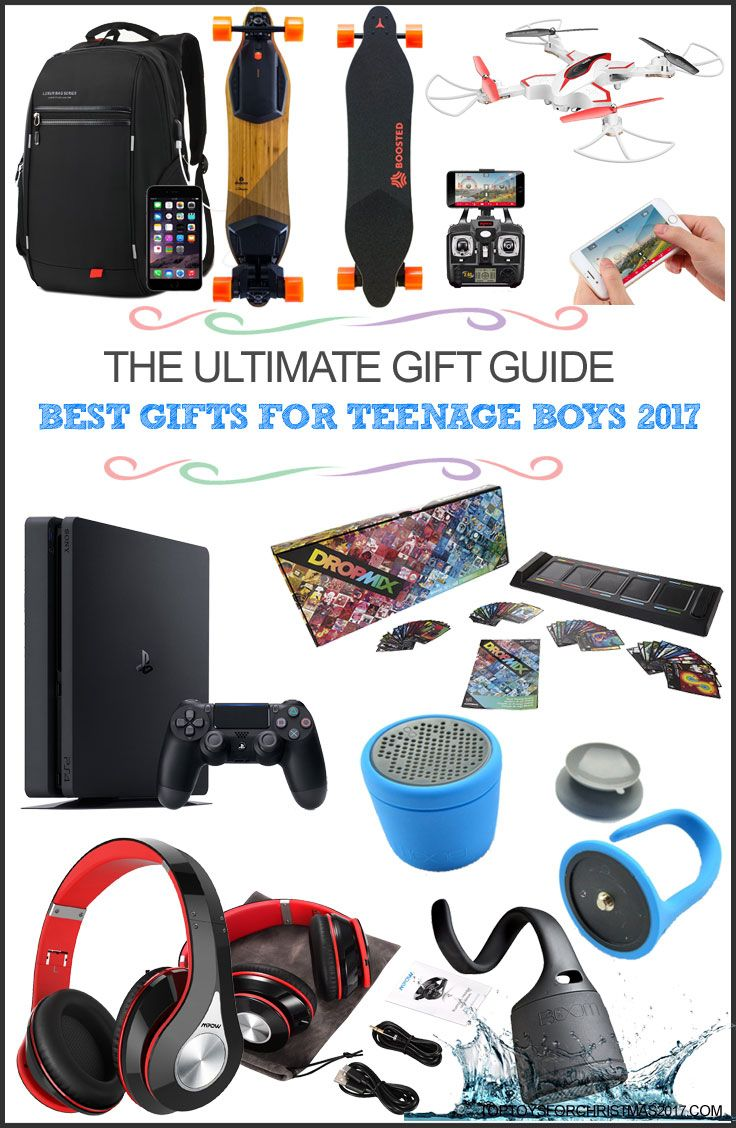 Best Gifts for Teenage Boys 2017 Top Christmas Gifts