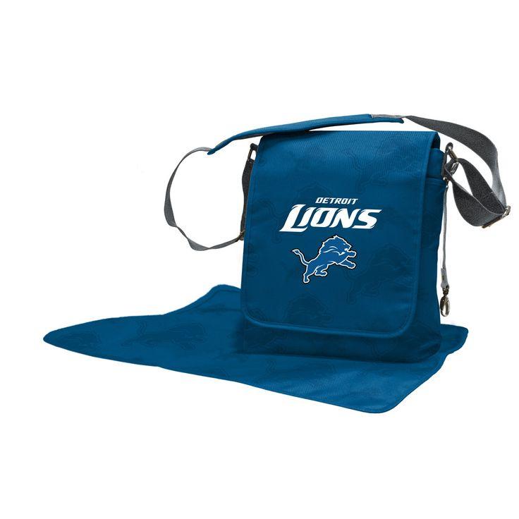 Detroit Lions Coach Messenger Baby Diaper Bag