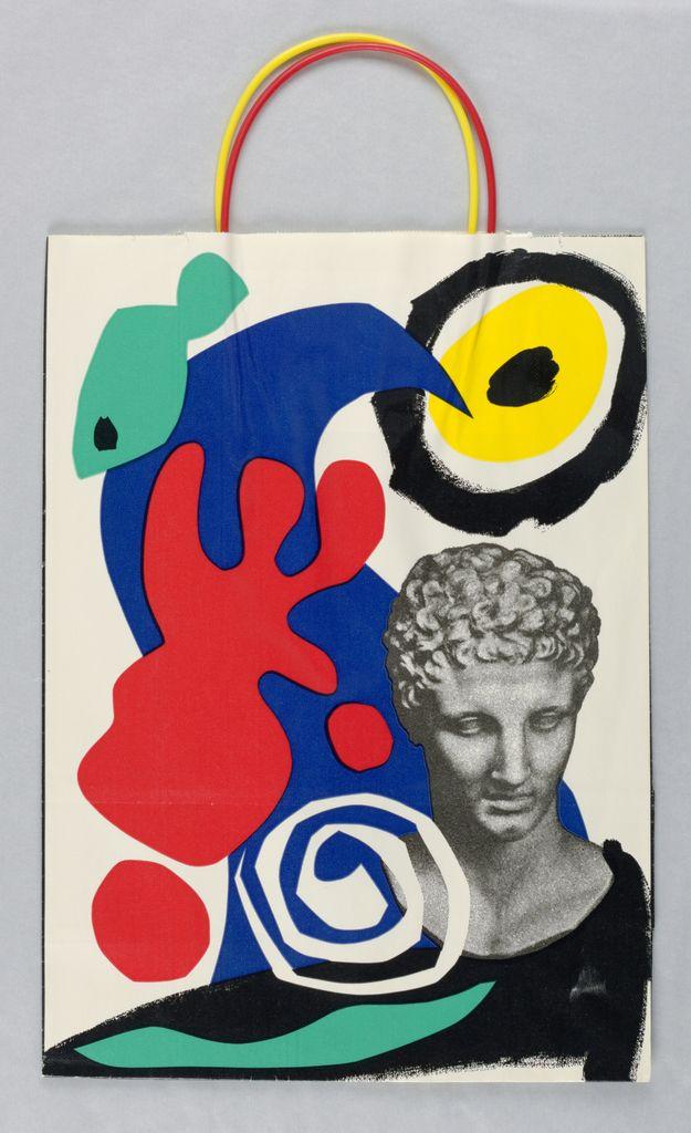 "le-jaune: "" SHOPPING BAG, BLOOMINGDALE'S: MEDITERRANEAN ODYSSEY 1987 """