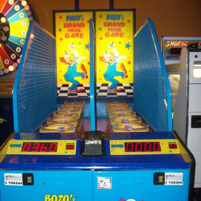 Bozo the Clown Bucket Arcade Game | 90s. Bet You'd ...
