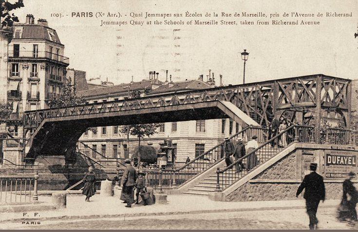 quai de Jemmapes - Paris 10ème