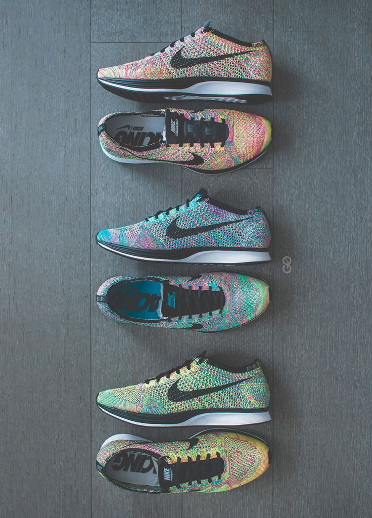 Squad goals with the #Nike #Flyknit #Racers