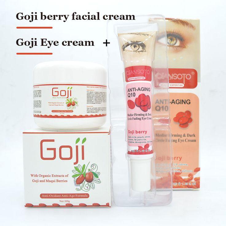 Hyaluronic acid Instantly angeless goji berry eye revitalizing cream face cream wolfberry medlar anti wrinkle  ageless cream