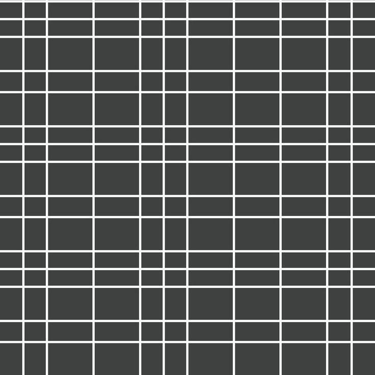 Brewster White Checkered Plaid Wallpaper