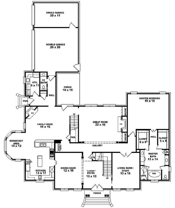 411 Best Images About Dream Home House Plans On Pinterest