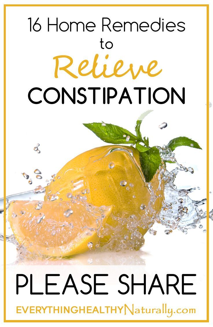 Constipation Natural Remedies Nz
