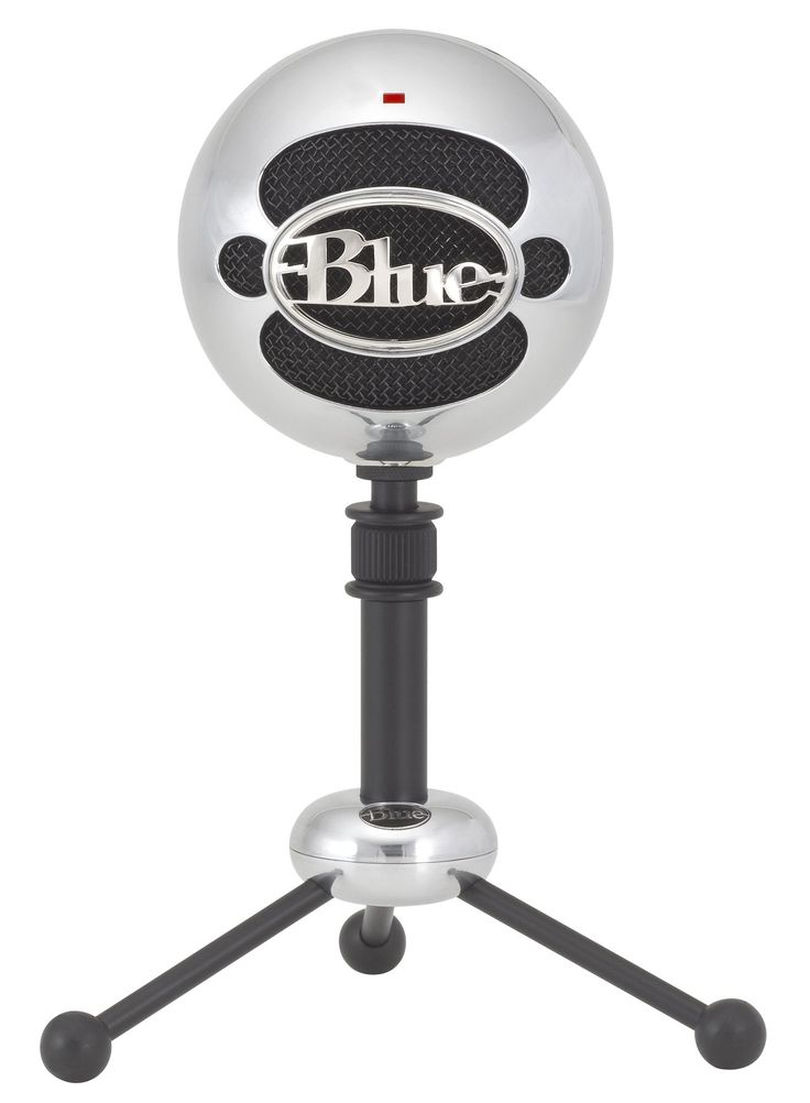 Amazon.com: Blue Microphones Snowball USB Microphone (Brushed Aluminum): Musical Instruments