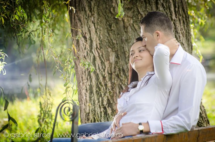 Fotografie de logodna in natura. George si Cristina Engagement Session