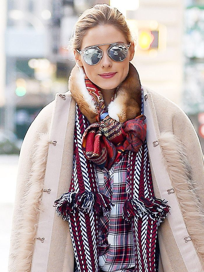 Olivia Palermo Showed How NYC Girls Deal With Winter