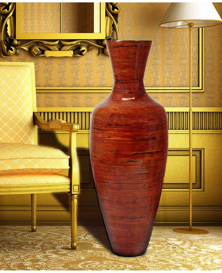 Uniquewise Bamboo Floor Vase 37 5 Tall Floor Vase Decor Tall Floor Vases Vases Decor