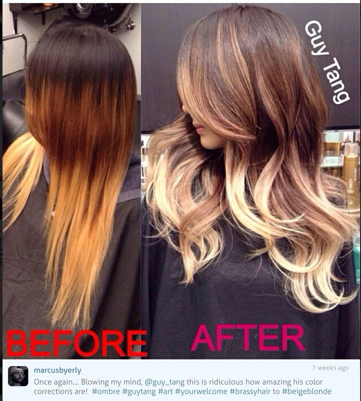 how to turn brassy orange hair ash