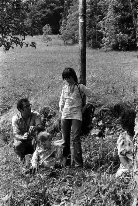 Jane Fonda and Roger Vadim with their daughter Vanessa
