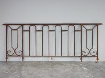 balcon  garde corps ancien fer forge louis xvi