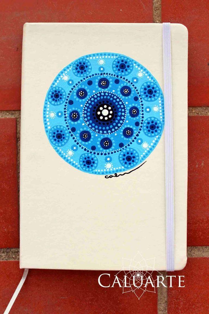 Caluarte: Cuaderno pintado a mano