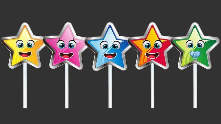 Starfish Lollipops Finger Family Songs | Starfish Finger Family Songs | Starfish Kids Songs