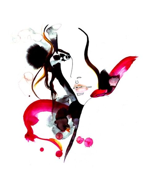 Amelie Hegardt fashion illustration artelimited.com