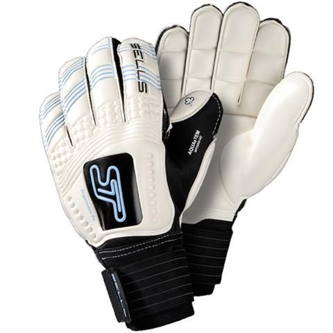 Sells Convex Aqua Emobossed Goalkeeper Gloves - Goal Kick Soccer