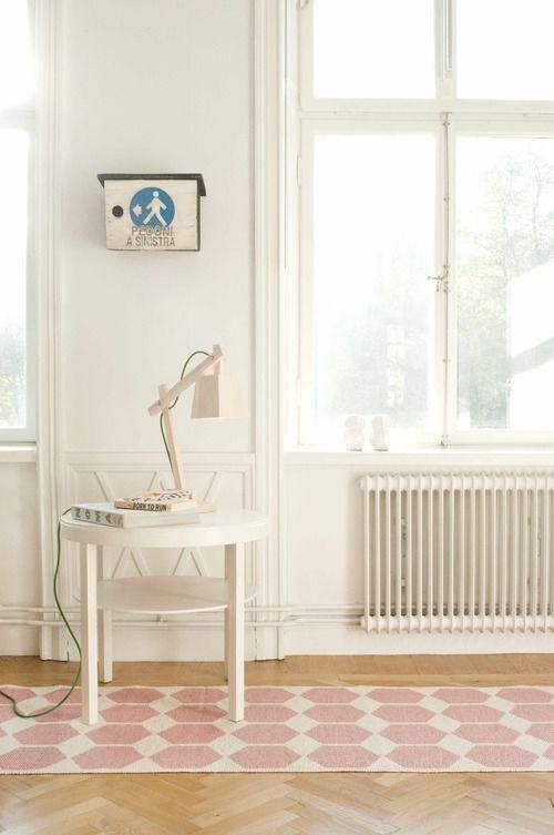New Brita Sweden Kunststoff L ufer Anna Geometrisches Design in zarten Pastellfarben