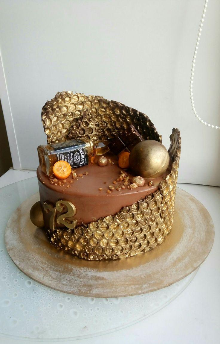 Мужской торт, торт с виски, брутальный торт